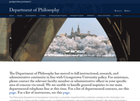 philosophy.georgetown.edu