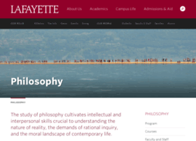 philosophy.lafayette.edu