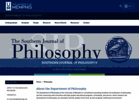 philosophy.memphis.edu