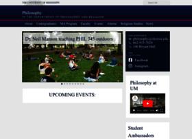 philosophy.olemiss.edu