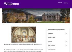 philosophy.williams.edu