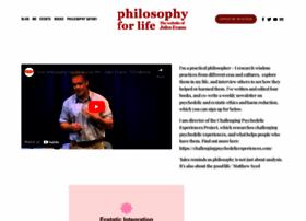philosophyforlife.org