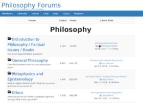philosophyforums.com