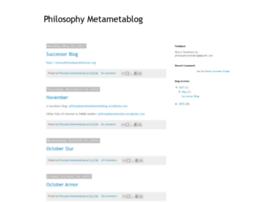 philosophymetametablog.blogspot.com