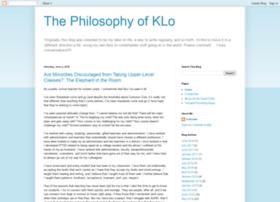 philosophyofklo.blogspot.com