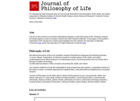 philosophyoflife.org