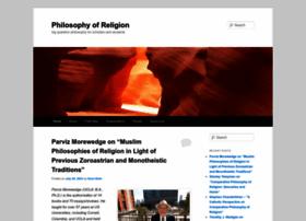 philosophyofreligion.org