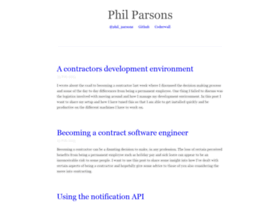 philparsons.co.uk