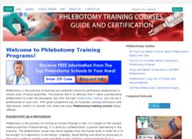phlebotomytrainingprograms.org