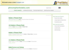 phnomphenhotels.com