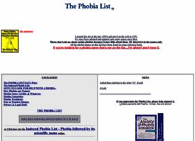 phobialist.com