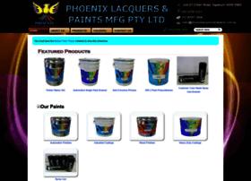 phoenixlacquersandpaints.com.au