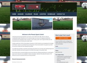 phoenixsportscenter.leagueapps.com