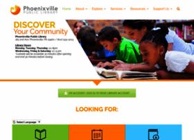 phoenixvillelibrary.org