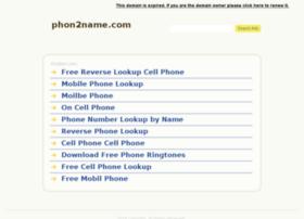 phon2name.com