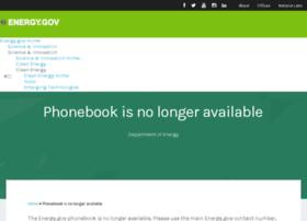 phonebook.doe.gov