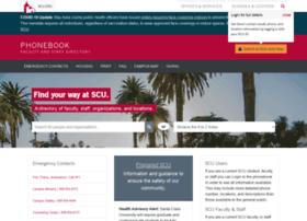 phonebook.scu.edu