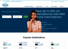 phonecardselector.com.au