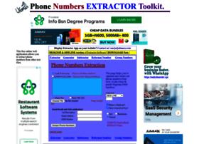phonenumberextractor.com