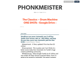 phonkmeister.com