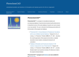 photochemcad.com