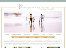 photographybyalison.com