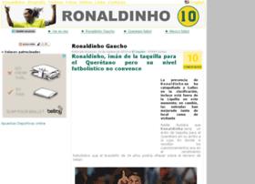 photosronaldinho.com