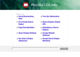 php-dug-gs.info