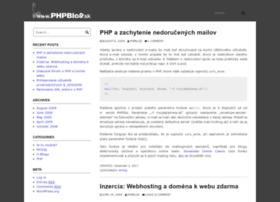 phpblog.sk