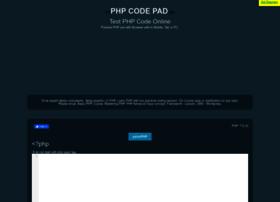 phpcodepad.com