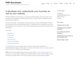 phpdeveloper.org.uk