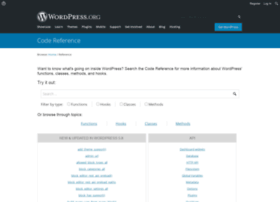 phpdoc.wordpress.org
