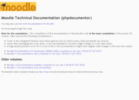 phpdocs.moodle.org