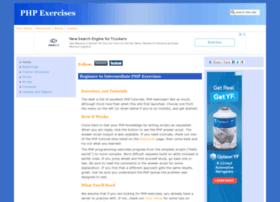 phpexercises.com