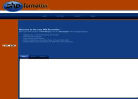 phpformatter.com