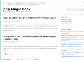 phpmagicbook.com