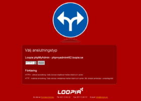 phpmyadmin462.loopia.se
