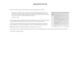 phpmyforum.de