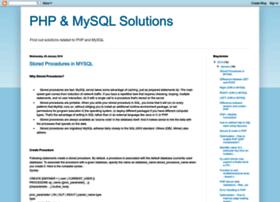phpmysqlsolution.blogspot.com