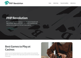 phprevolution.com