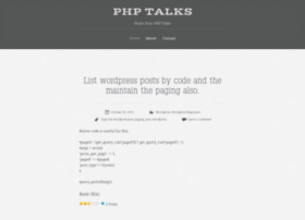 phptalks.wordpress.com