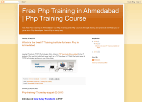 phptraininginahmedabadgj.blogspot.in