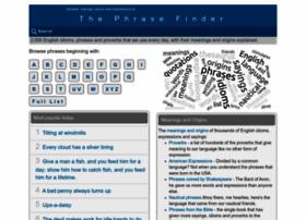 phrases.org.uk