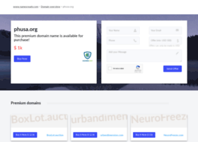 phusa.org