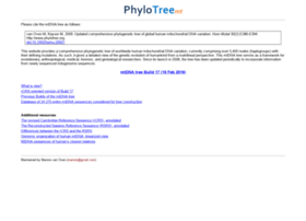 phylotree.org