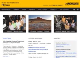 phys.uwm.edu