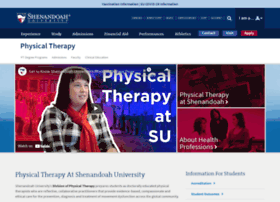 physical-therapy.su.edu