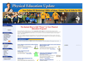 physicaleducationupdate.com