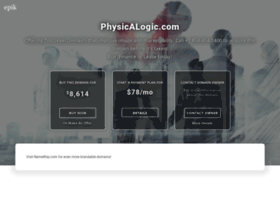 physicalogic.com