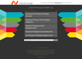 physicaltherapyschoolsinfo.org